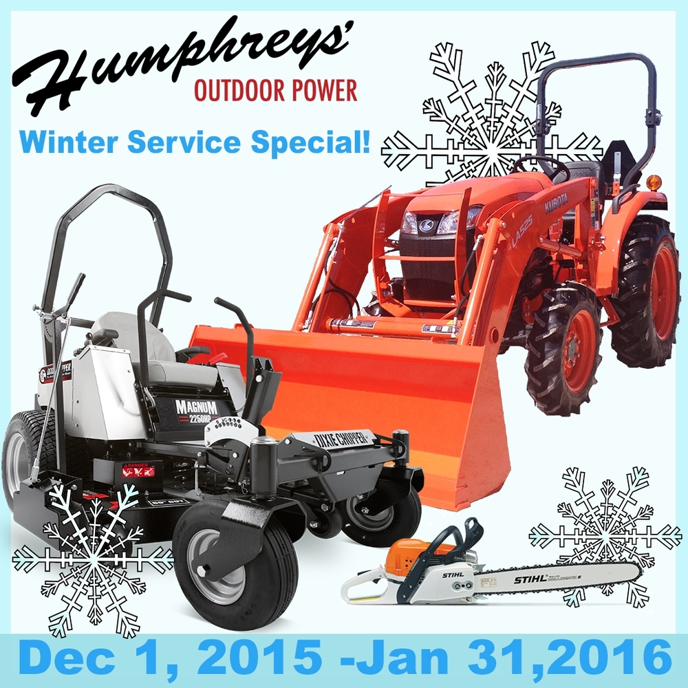 3 Reasons to take advantage of our Winter Service Special