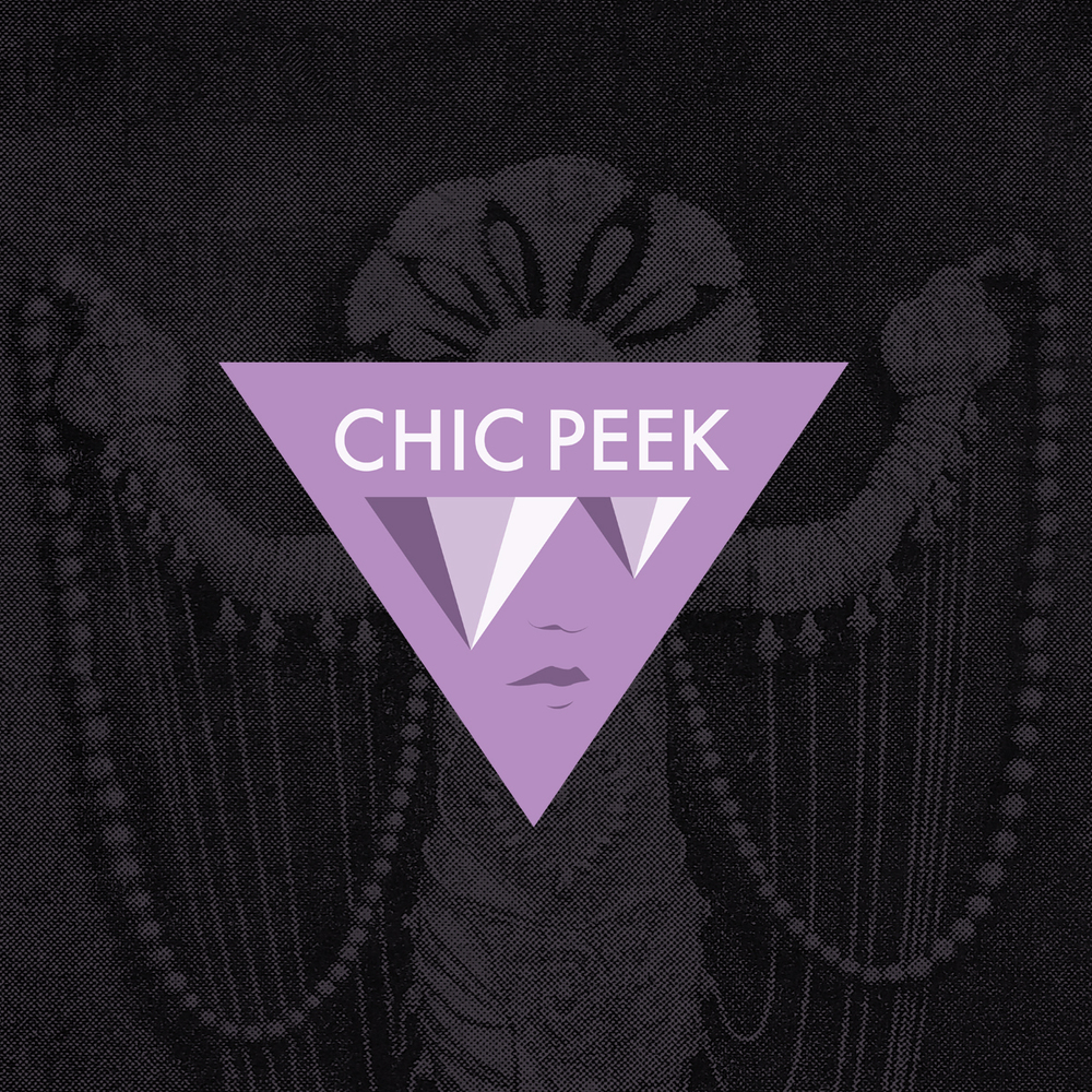 Logo exploration for Chic Peek, online jewelry store.