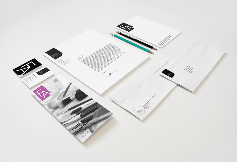 Fashion Academy Branding