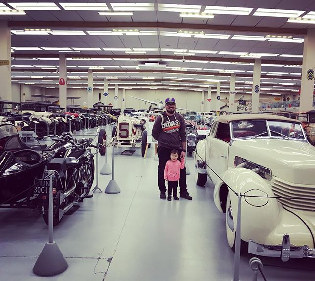 Father's Day trip to Southwards car museum 😊🚗🚙🏍🛵