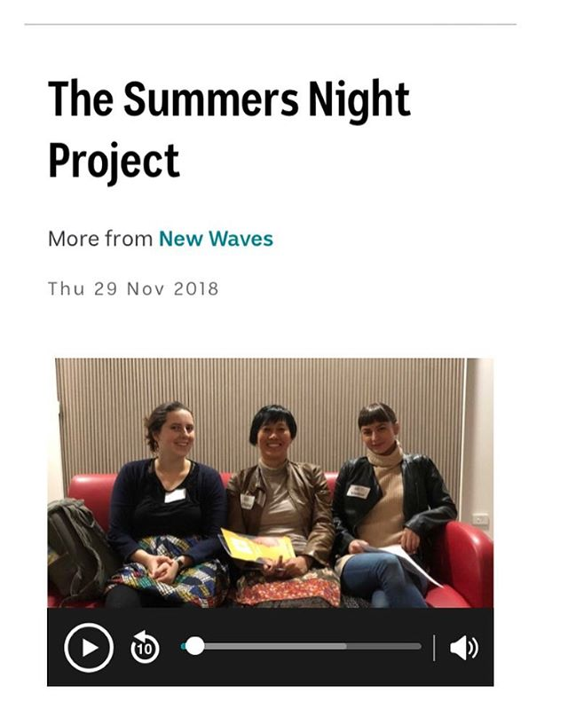 "The podcast is out - earlier this year @oliviabettina, Rachel Bruerville and myself chatted with @abcclassic about the Summers Night Project before our Perth performance.  @cathope and @soundstream_nm also discussed the background to creating this wonderful project addressing the gender gap: - ""Women have always made music, women have always written music, and yet they really have been neglected in the history books"" - Gabriella Smart ""There are a lot of reports and statistics out there to support the case that women do graduate from music degrees but very few of them go into notable careers or visible careers."" - Cat Hope - An important issue beautifully told.  With music also performed by Tristen Parr Stuart James Derek Pascoe - Link in bio. @turanewmusic @australianmusiccentre  @decibelnewmusic #womencomposers #femalecomposer #SummersNightProject"