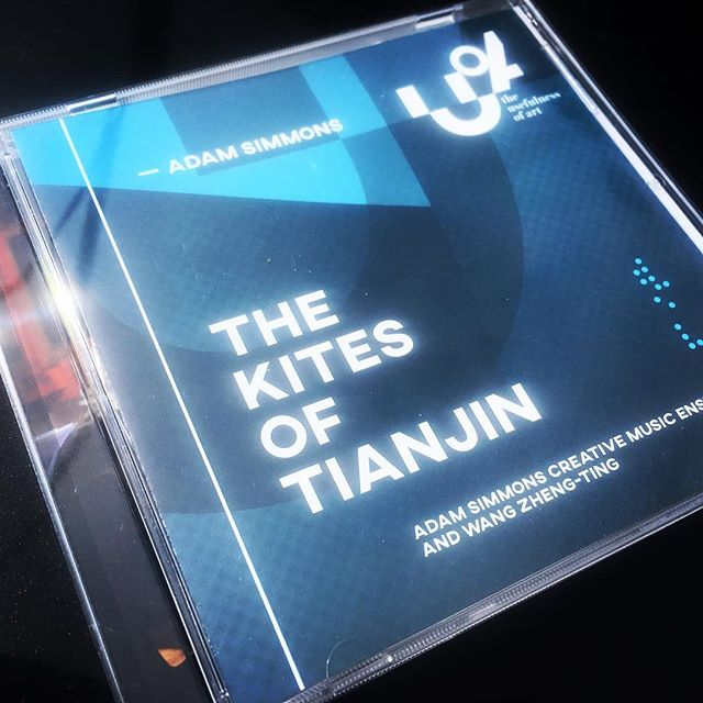 This one is out also!  Sounding awesome. - - #thekitesoftianjin #adamsimmonscreativemusicensemble #theusefulnessofart #tuoa