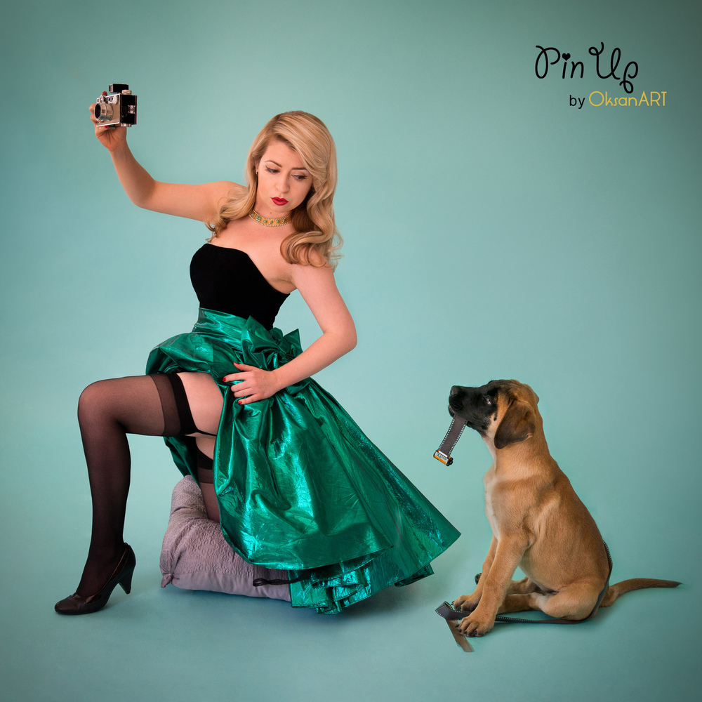 OksanART pin up photography