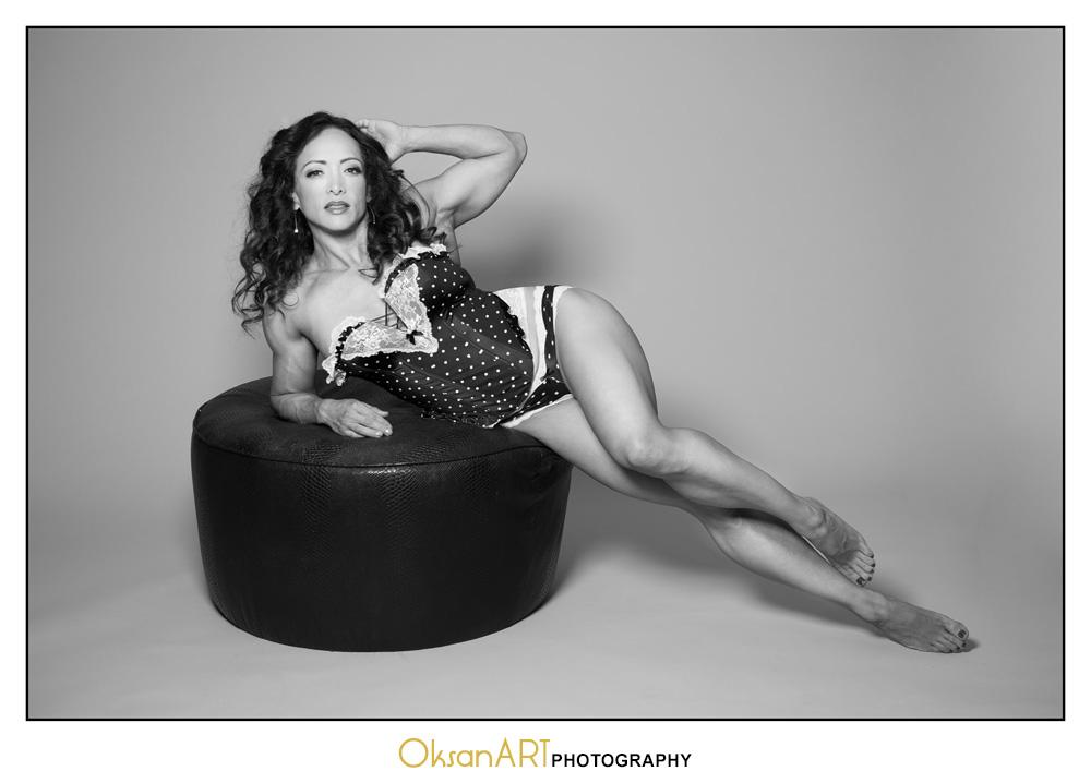 OksanART boudoir photography