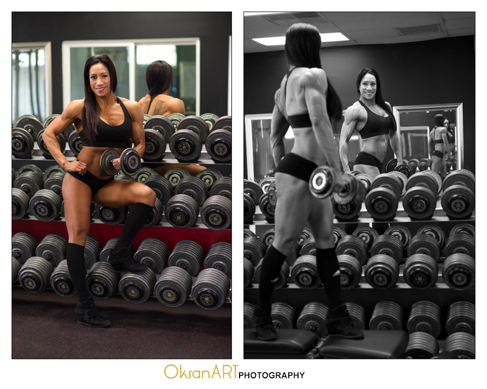 OksanART Fitness Photography Island Empire Rancho Cucamonga
