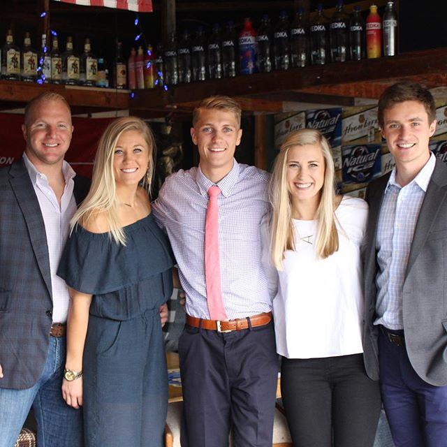 Fun weekend celebrating Nate's graduation with this gang. Way to go, @natemarcus9!