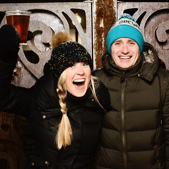 Fun times at Frozen last night. We even managed to carry (part) of the @worksighted ice bar to the office.