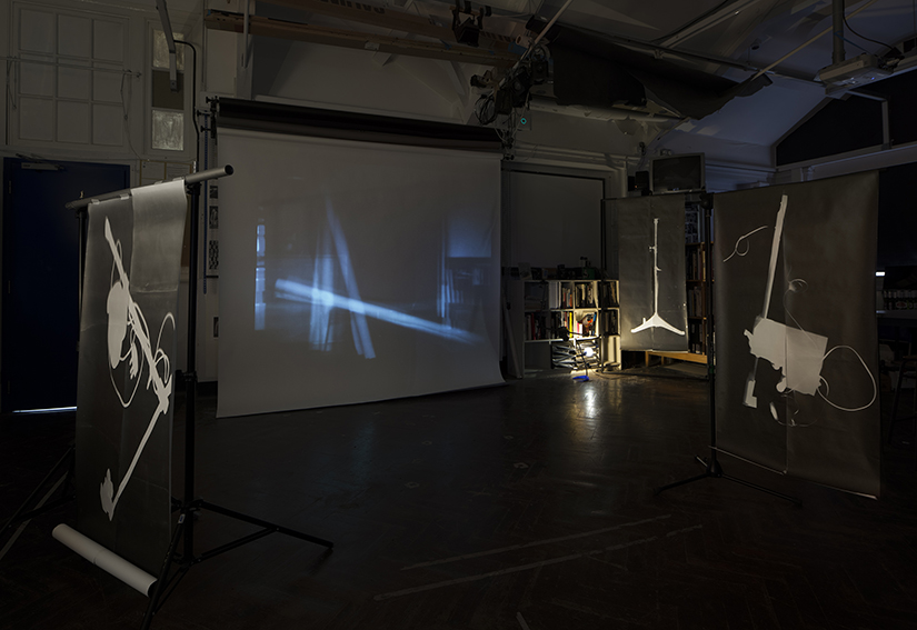 Ghosts from Darkroom Installation View