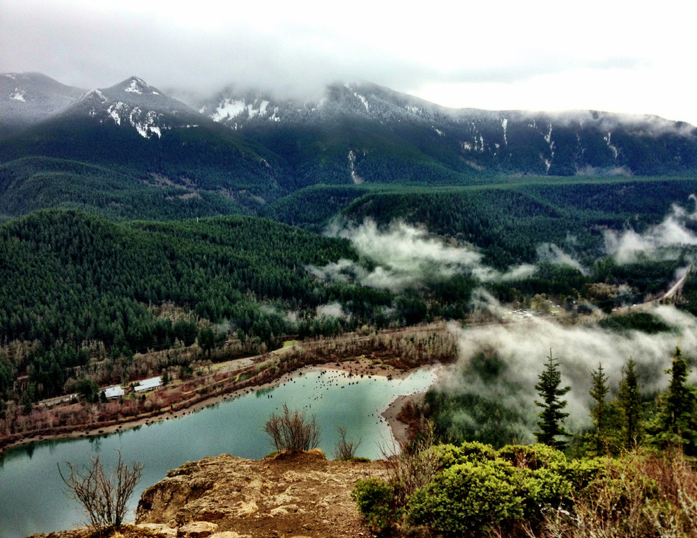 inspiration: rattlesnake ledge