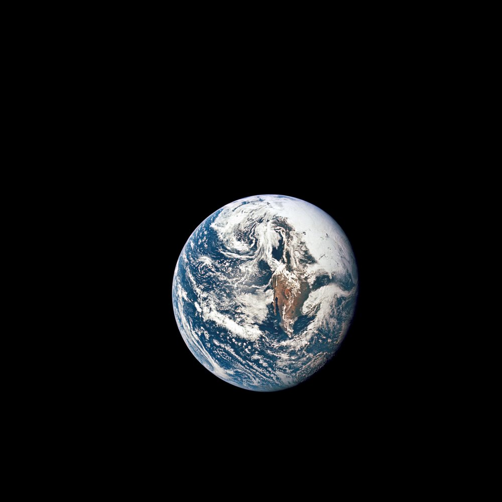 May 18, 1969 // Apollo 10 View of the Earth via NASA