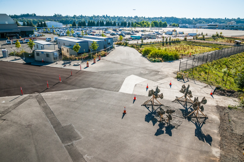 PLANT 2015 art installation at Boeing Plant 2. Photos by Tim McGuire courtesy Boeing Co.