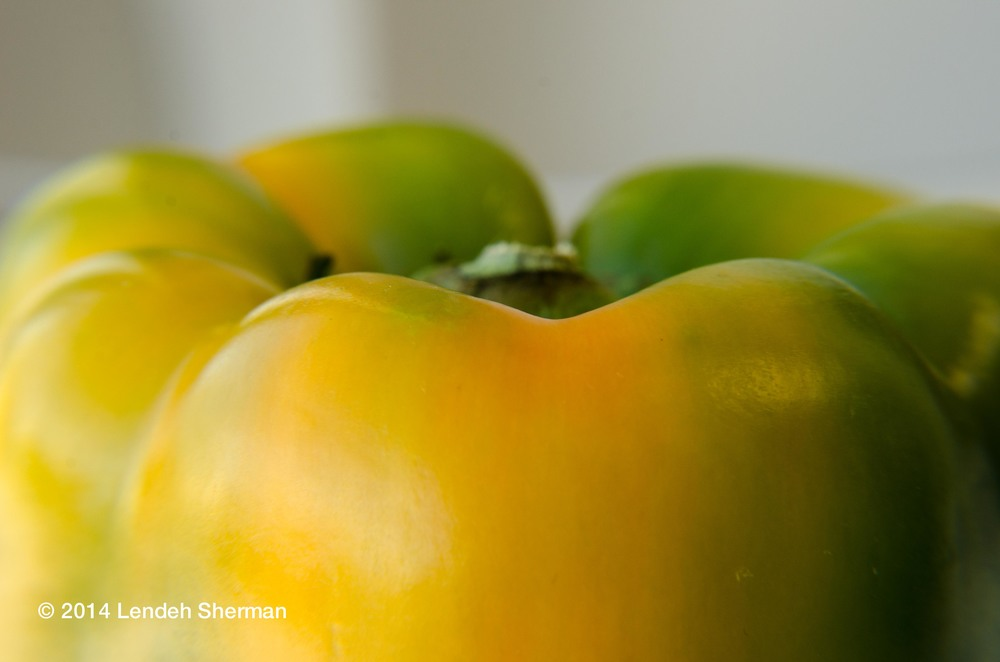 Photos of the day: green pepper.