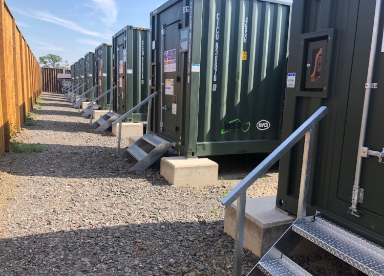 Rock Farm 20 MW Energy Storage Facility, Shropshire, England