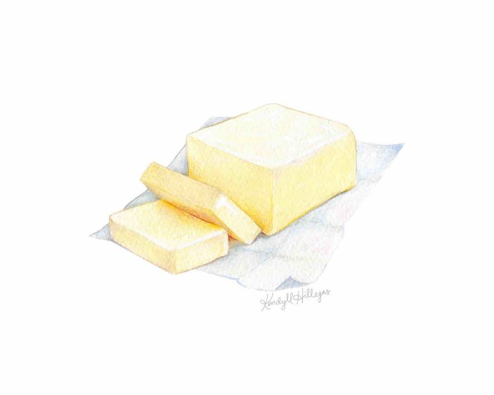 Butter Illustration