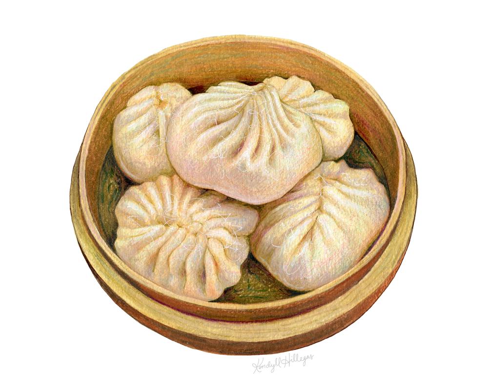 Dumpling Illustration