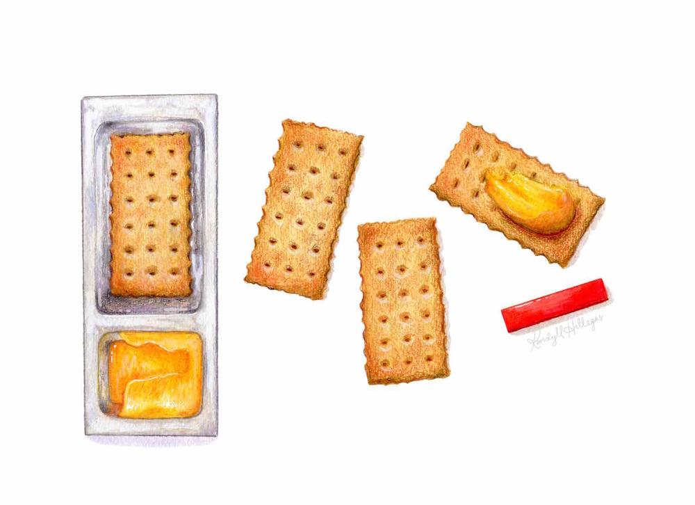 Handi Snacks Illustration