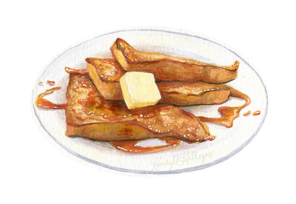 French Toast Illustration