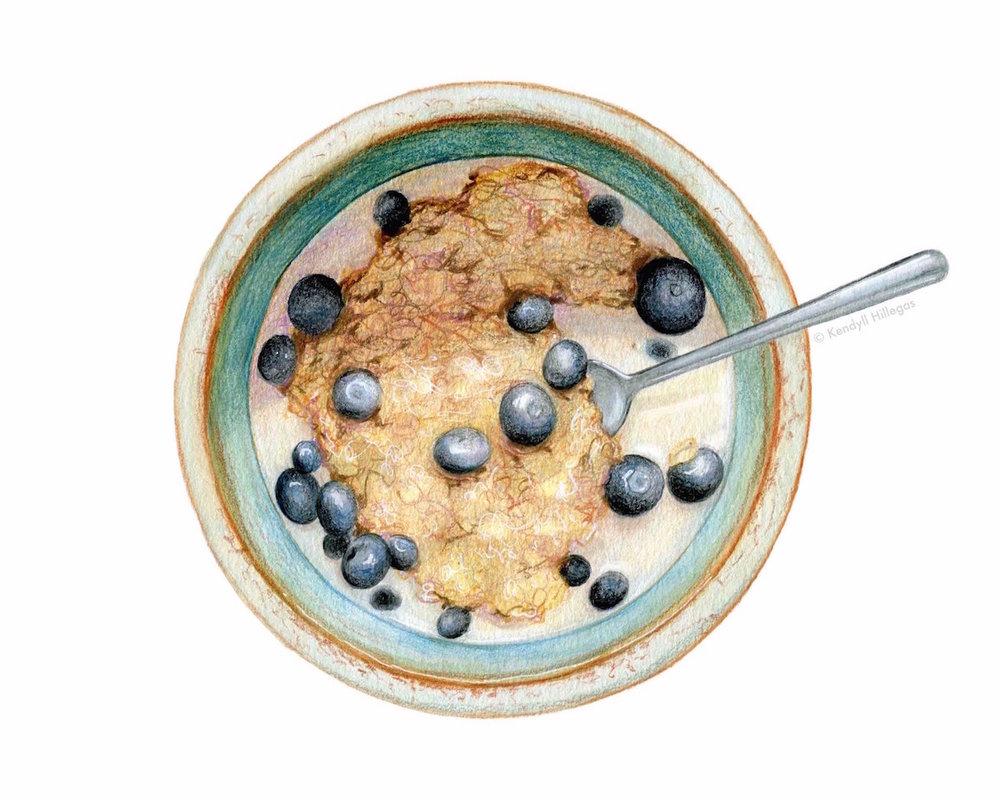 Cereal Illustration