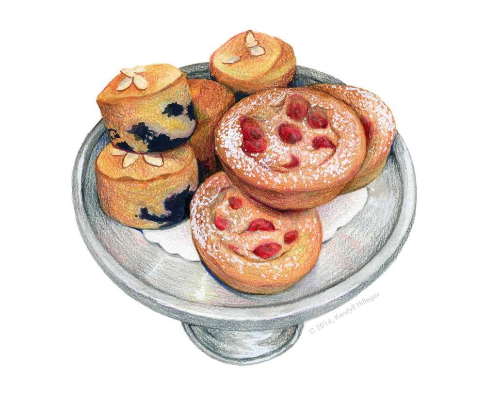 Pastry Shop Illustration