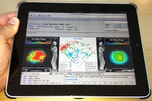 Players have loads of information at their fingertips these days, like these heat maps from TruMedia.