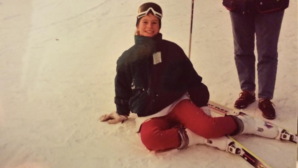 Circa 1994, Stowe, VT.
