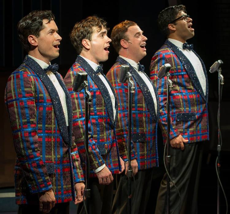 As Frankie in FOREVER PLAID at Milwaukee Repertory Theatre