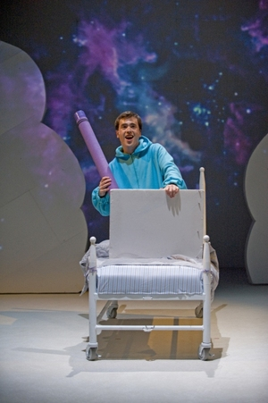 As Harold in HAROLD AND THE PURPLE CRAYON at Chicago Children's Theatre
