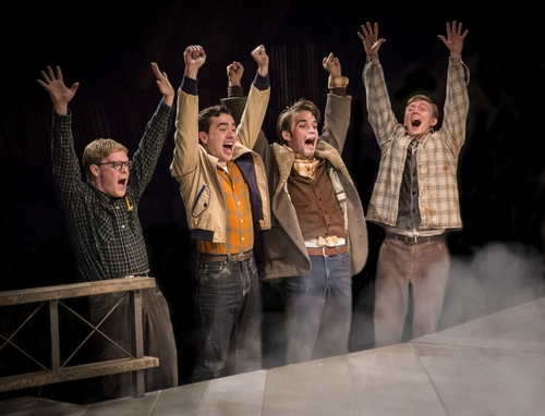 As Homer Hickam in OCTOBER SKY at Marriott Theatre in Lincolnshire