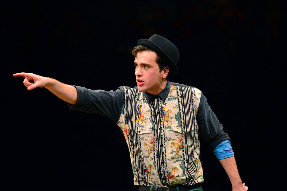 As Nate in GODSPELL at Marriott Theatre in Lincolnshire