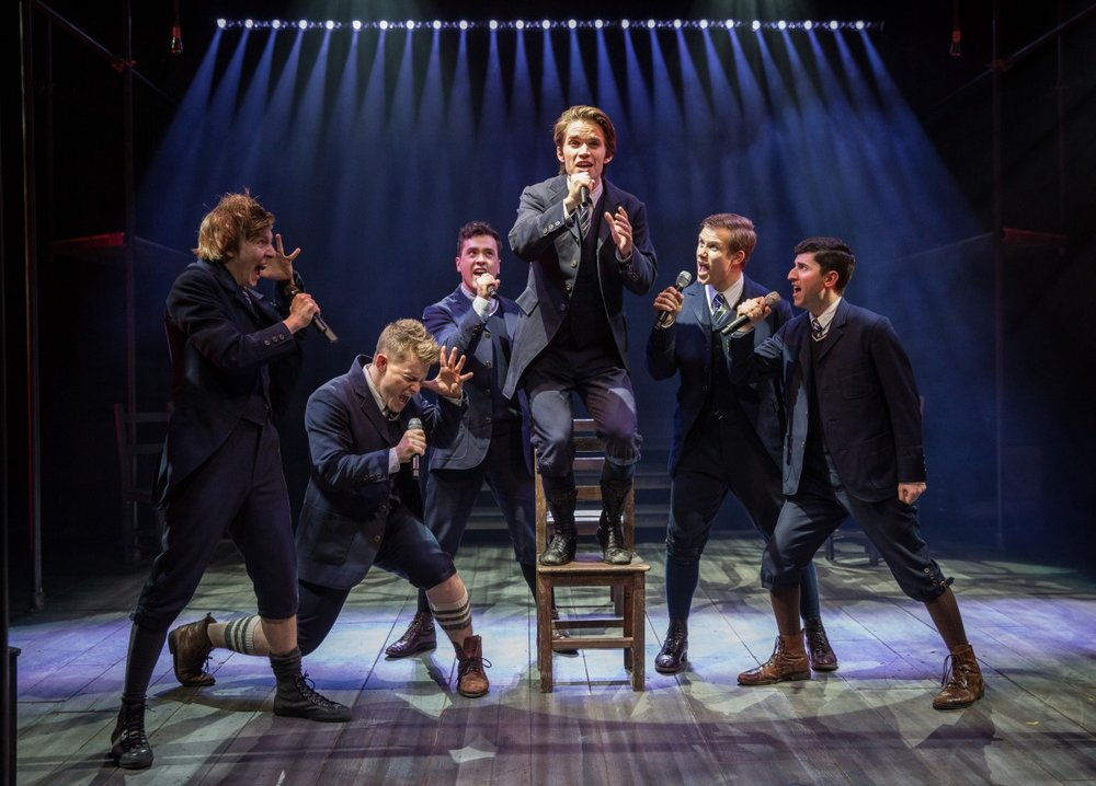As Otto in SPRING AWAKENING at Marriott Theatre in Lincolnshire
