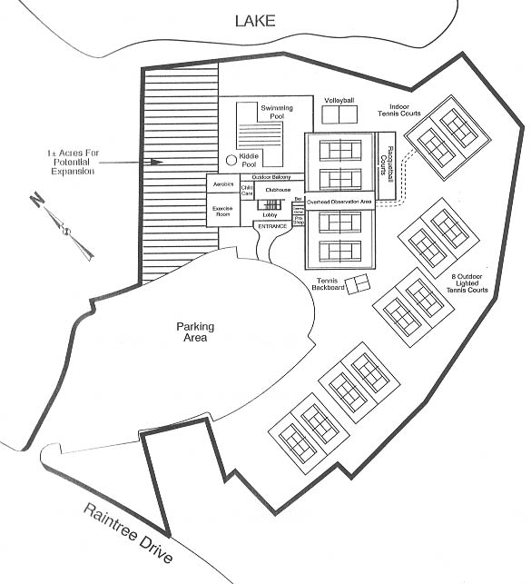Map of the Club