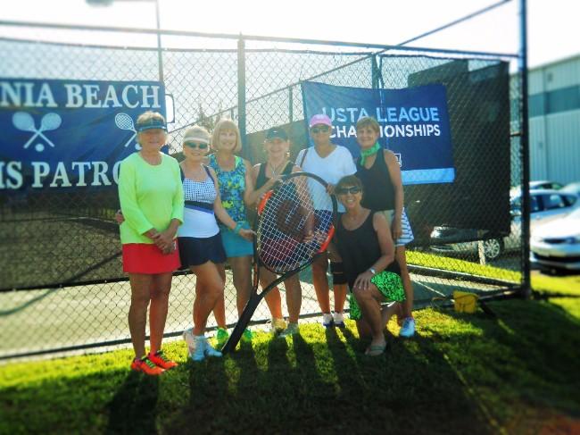Our USTA 8.0 65 and over team is going to Nationals! The team is captained by Robin Hatcher and they'll be heading to Surprise, Arizona in May for the competition.