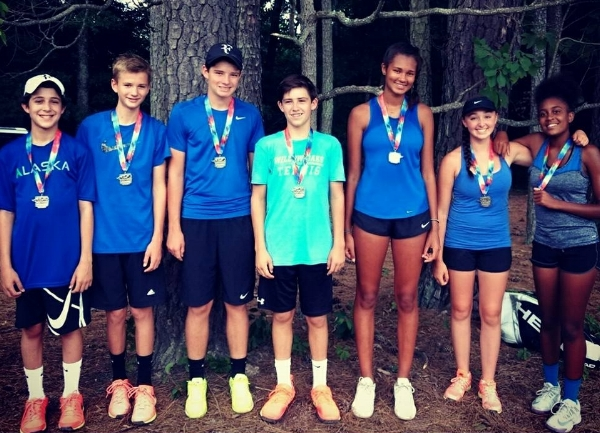 Congratulations Raintree 14 ADV for finishing in second at the USTA Junior Team Tennis Sectional Tournament this past weekend at Burkwood. Way to represent!!