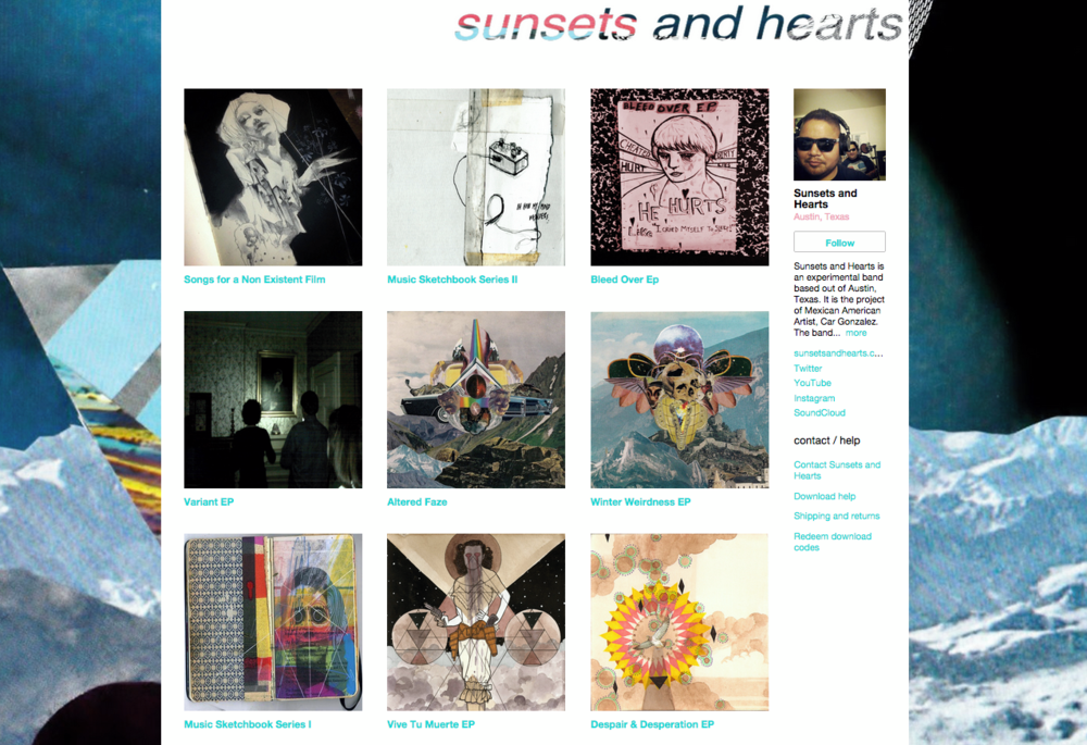 sunsets and hearts discography