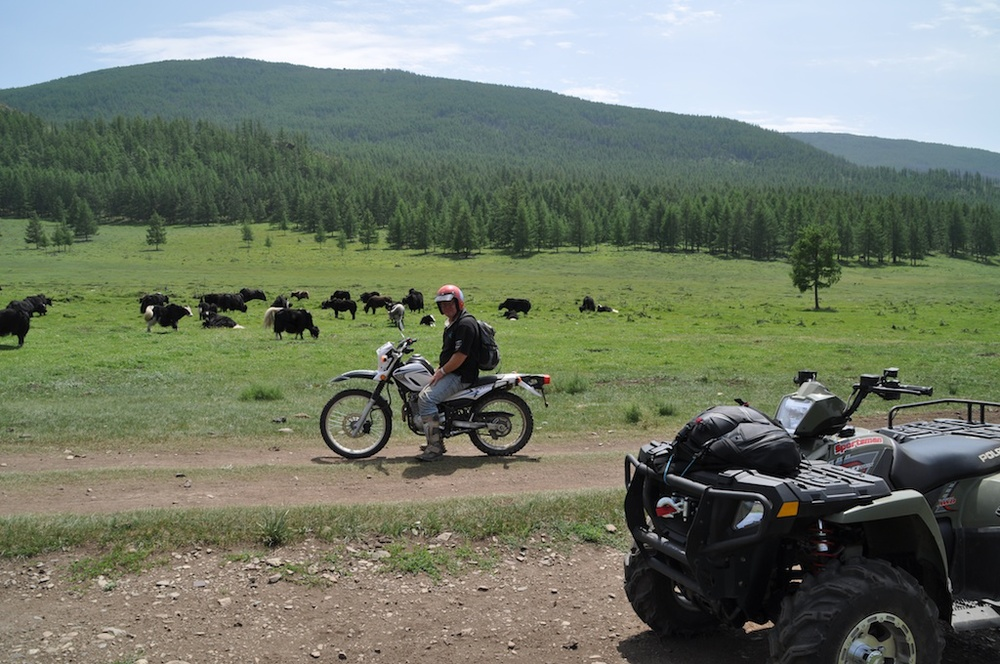 Roam deserts and the steppes on a motorbike and go to place noone else has been before. We organize guided tailor made trips to Gobi desert Huvsgul lake and also to off the beaten motorbike trails.