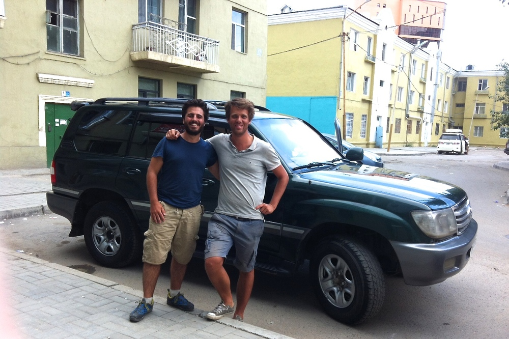 We covered Khovsgul lake, north and gobi desert to south in 10 days. it is pretty safe to do self driving in Mongolia. map.me application works great for gps. thank you for Drive Mongolia made our trip possible within short notice. Alexi, Germany and Vincent, France.
