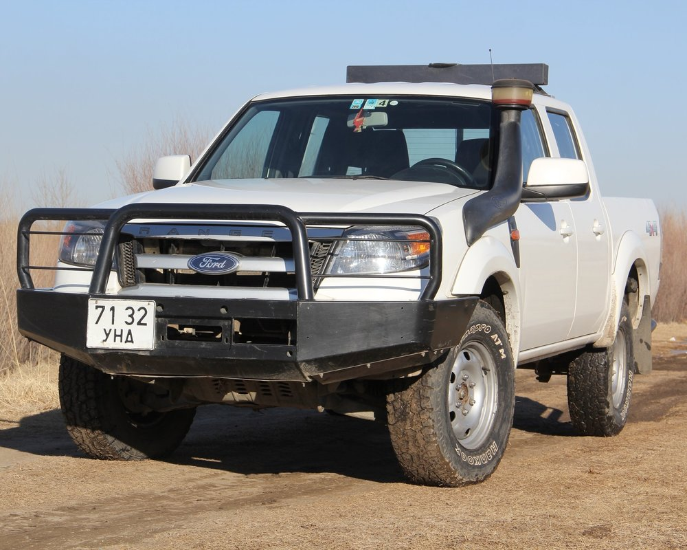 "FORD RANGER, 2011, MECHANIC, SUPPORT VEHICLE FOR A BIKE TOUR OR COMFORTABLE FOR 2 PAX. ALL OUR CARS ARE EQUIPPED  WITH ""ARB"" BUMPER AND WINCHES. WE'LL PROVIDE TWO EXTRA TIRES. ROOF TENTS ARE OPTIONAL AND IT CAN BE INSTALLED IN EVERY VEHICLE. AND WE HAVE ""LUGGAGE STORAGE SERVICE"" WITH FREE OF CHARGE."