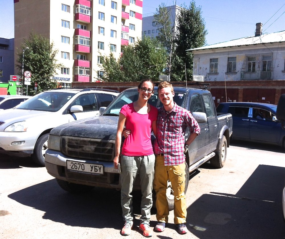 Thank you, Drive Mongolia for providing such a reliable vehicle, a Ford Ranger. Mongolian people are very helpful. We had really great time in Mongolia.  - - Patrick, Germany