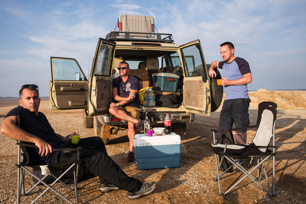 Drive Mongolia did a great job! They collected us from the airport, gave us an indestructible Toyota Land Cruiser complete with camping gear and helped us plan our amazing trip across Mongolia. - Mark Hughes, England