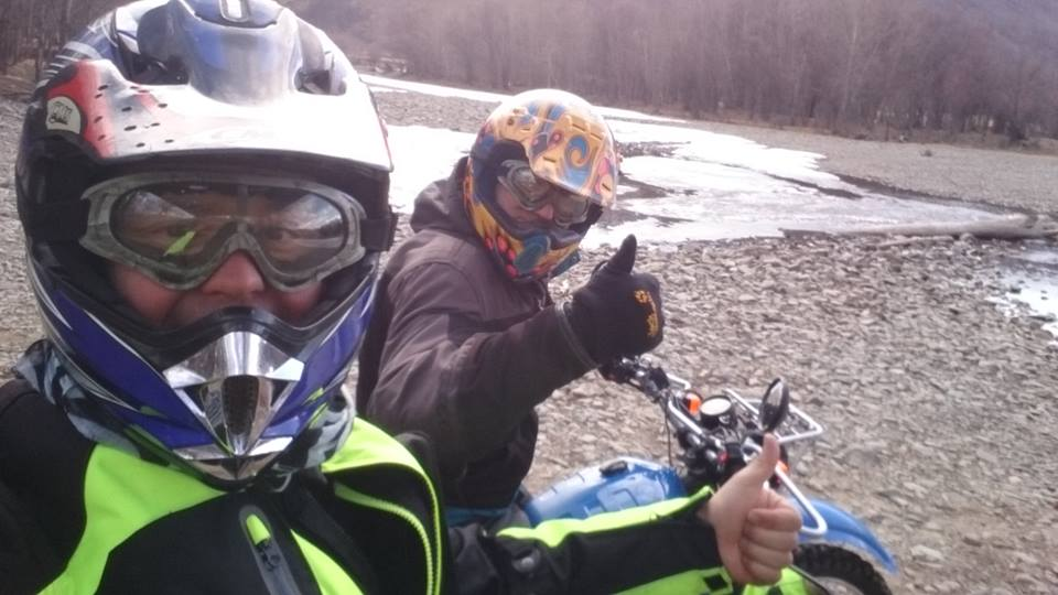 I wish we had more days to ride in Mongolia. - Jose and Miguel Checa, Spain