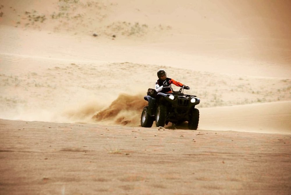 ATV - Whether you're out in the desert, riding through terrain there's an ATV built to conquer your challenge.
