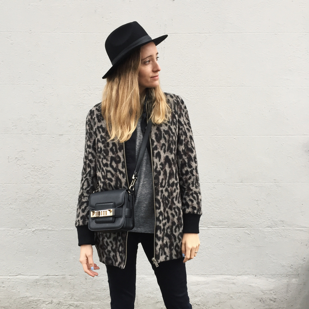 shardette leopard coat lack of color hat