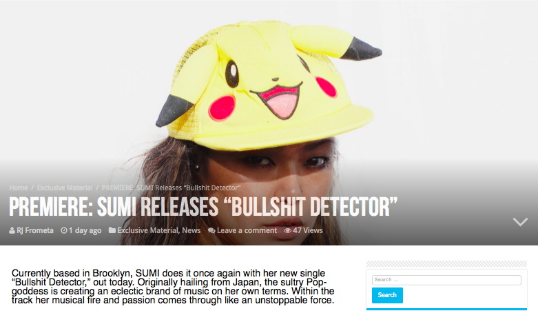 Premier & Review of Bullshit Detector is here. -