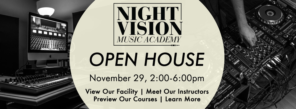Night Vision Music Academy Open House