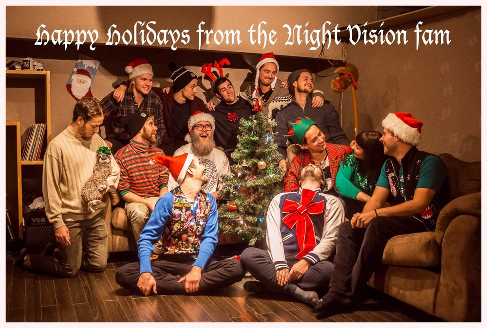 Happy Holidays from the Night Vision Family