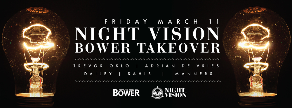 Night Vision at The Bower in Edmonton