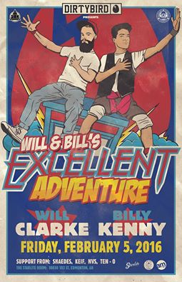 Billy Kenny and Will Clarke in Canada