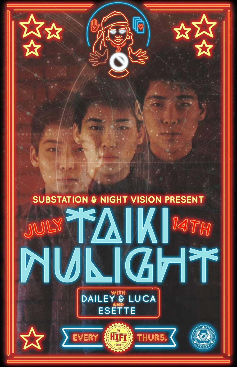 Taiki Nulight with Night Vision and Substation