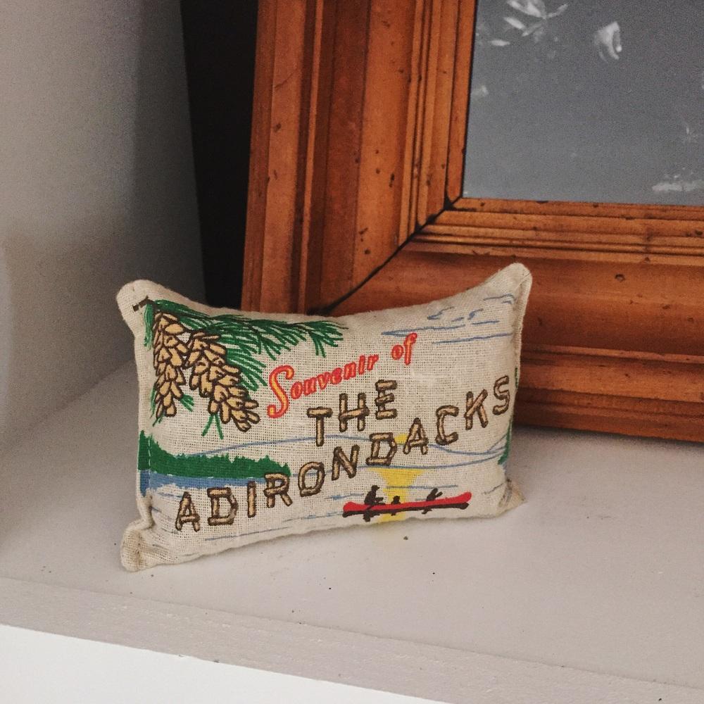 Pine sachet from the Adirondack Museum