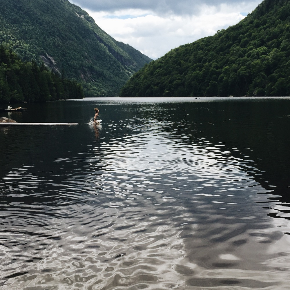A hike with my Dad to the lower lake at Ausable Club in the Adirondacks